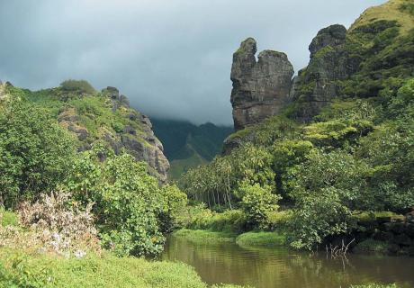 La baie des vierges. Crédit photo Tahiti Héritage