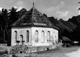 Le temple de Papetoai. © Commune de Moorea-Maiao