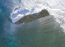 Vague de Teahupoo©B Thouard