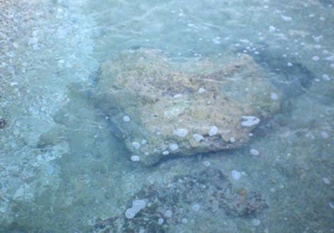 La pierre Tua poto, également appelée Matira