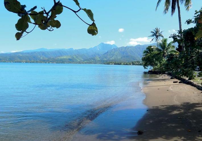 La plage de Mitirapa. © Commnue de Taiarapu-Ouest