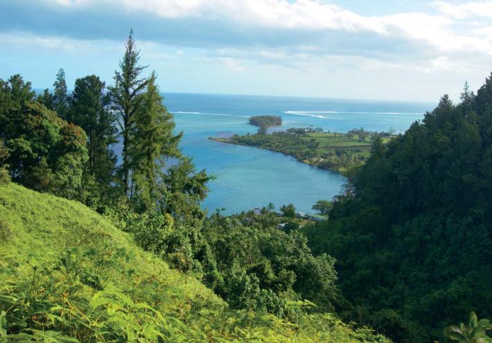 Entre Mataiea et Papeari, la passe de Rautirare. © Commune de Teva I Uta