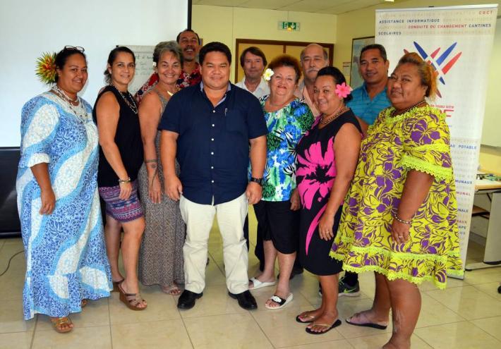 Les participants à la formation mutualisation