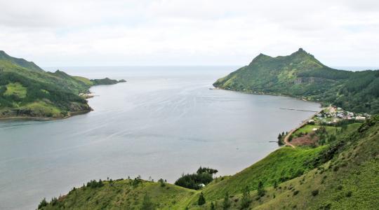 La baie de Ahurei ou Kau'rei