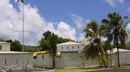Le fort de Taravao