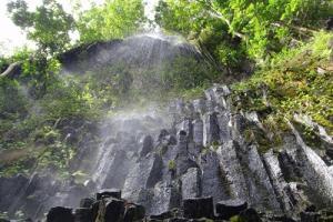 Les orgues basaltiques de la Tuaru – Te Piha